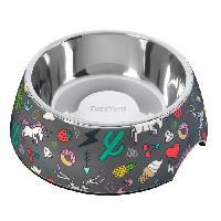 Distributeur D'aliment FUZZYARD Gamelle 2 en 1 - 16.5 x 7.5 cm - Pour chien