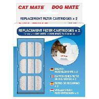Distributeur D'aliment PET MATE Filtre pour fontaine animaliere 335 - Pour chat