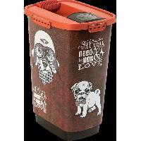 Distributeur D'aliment ROTHO Container a croquettes verseur Cody 25 L - Pour chien et chat