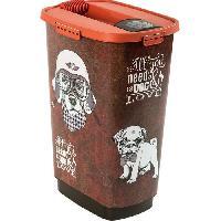 Distributeur D'aliment ROTHO Container a croquettes verseur Cody 50 L - Pour chien et chat