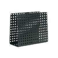 Distributeur De Serviettes - Porte Serviette SP Porte-serviettes Metro - 15 x 12 x 6.5 cm - Noir - S&p
