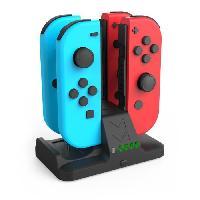 Dock - Socle - Station De Charge Pour Manette Station de recharge pour 4 Joy-Cons pour Nintendo Switch