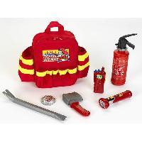 Docteur - Infirmiere - Veterinaire FIRE FIGHTER HENRY - Sac a Dos et Accessoires - Pompier