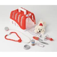 Docteur - Infirmiere - Veterinaire KLEIN - Coffret de veterinaire avec accessoires pour enfant