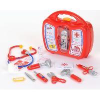Docteur - Infirmiere - Veterinaire KLEIN - Mallette docteur avec telephone portable pour Enfant