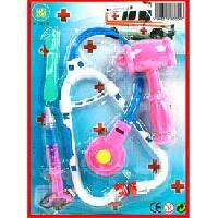 Docteur - Infirmiere - Veterinaire Kit docteur stethoscope - accessoires