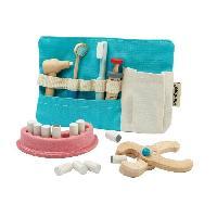Docteur - Infirmiere - Veterinaire PLAN TOYS La trousse de dentiste