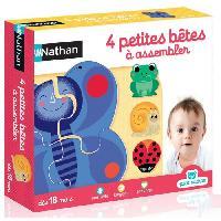 Dominos PETIT NATHAN - 4 Petites Betes a Assembler