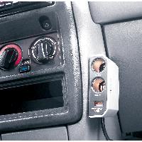 Double prise allume-cigare -USB- 12V 8A Carpoint