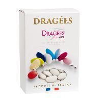 Dragees DRAGEES DE FRANCE Dragees Avola Lys 44 Amande - Couleur - blanc - Boite 1 kg