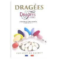 Dragees DRAGEES DE FRANCE Dragees Belle de nuit - Blanc - 40 d'amande - 1 kg