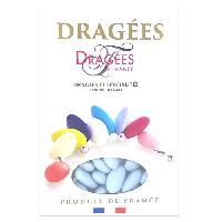 Dragees DRAGEES DE FRANCE Dragees Belle de nuit - Bleu - 40 d'amande - 1 kg
