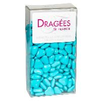 Dragees DRAGEES DE France - Petits Coeurs Chocolat - Caraibes 250G