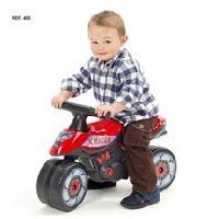 Draisienne FALK Porteur Moto Racer de Course Rouge