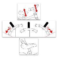 Draisienne SKIDS CONTROL Draisienne avec repose-pieds - Vert - Aucune