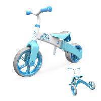 Draisienne Y-VOLUTION - Tricycle Evolutif YVELO Flippa Bleu
