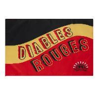 Drapeau - Banderole - Echarpe Drapeau Supporter Belgique Diables Rouges