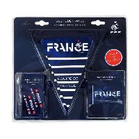 Drapeau - Banderole - Echarpe FFF Kit supporter de match
