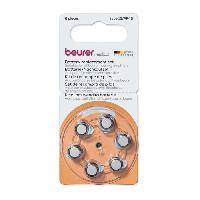 Droguerie BEURER Pile de remplacement (6 pcs.) - Pile de remplacement - 6 pieces