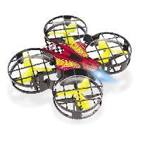 Drone MONDO - Hot Wheels - hawk - drone nano - 8cm - Garcon - Mixte - A partir de 3 ans