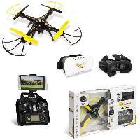 Drone MONDO - Ultradrone - X30 VR Mask - drone 30cm - camera + wifi + masque realite virtuelle - Garcon - Mixte - A partir de 14 ans