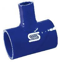 Durites en T Durite en T - tube 25mm - 70mm - Bleu - SiliconHoses
