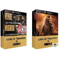 Dvd DVD COFFRET EDGE OF TOMORROW - GODZILLA