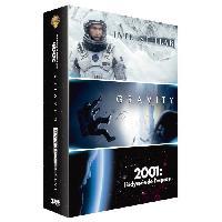 Dvd DVD Pack Interstellar + Gravity + 2001. l'odyssée de l'espace - Warner Bros