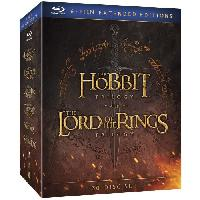 Dvd Film Blu-ray Le Hobbit et Le Seigneur des Anneaux. les trilogies - Version longue