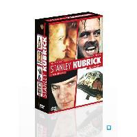 Dvd Film Coffret DVD Stanley Kubrick - Eyes Wide Shut + Shining + Orange mecanique + Full Metal Jacket - 4 DVD