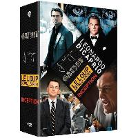 Dvd Film DVD COFFRET LEONARDO DICAPRIO 2014 4DVD