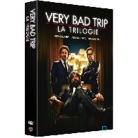 Dvd Film DVD Coffret trilogie verry bad trip