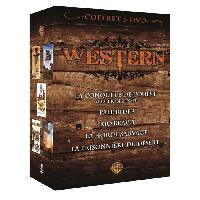 Dvd Film DVD Coffret western - la conquete de l'Ouest ...