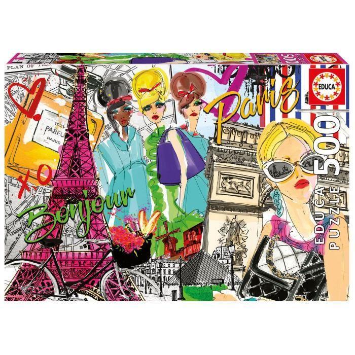 EDUCA-Puzzle-500-Emmene-Moi-A-Paris