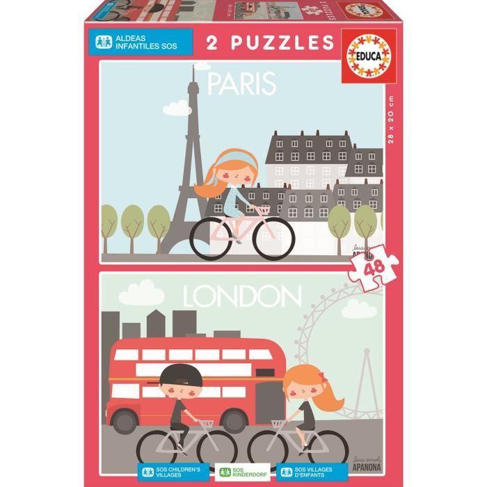 EDUCA-Puzzles-2X48-Sos-Villages-D-039-Enfants-Laia-Orriols-Apanona