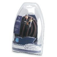 ER1 - Cable RCA - 2 Canaux - OFC - 1m - Serie Elite