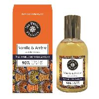 Eau De Parfum Eau de parfum - Vanille de Madagascar et Ambre - 90 d'origine naturelle - 100 ml
