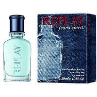Eau De Toilette Replay Vaporisateur Jeans Spirit for Him 30 ml