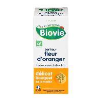 Eau De Toilette Sans Alcool - Eau De Senteur BIOVIE Senteur fleur d'oranger -Bio - 10 ml - Parfume. désodorise et assainit