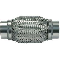 Echappements Raccord flexible Echappement type B - L300 - D70 - Avec sorties Inox soudees
