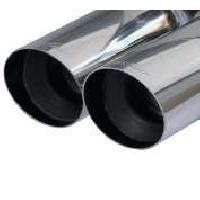 Echappements Voitures Silencieux echappement - 2xD80 pour Peugeot 307 2.0 16V 138CV - ap01 - Inoxcar