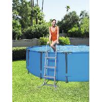 Echelle De Piscine - Escalier De Piscine BESTWAY Echelle sécurité - 2 x 3 marches - Pour piscine H 107