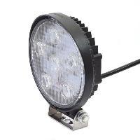 Eclairage Atelier AUTOBEST Feu de travail rond - 6 leds 18W - 1200 lumens