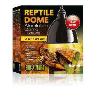 Eclairage Lampe Dome a reflecteur en aluminium L - Pour reptiles