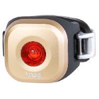 Eclairage Pour Cycle KNOG Feu arriere de vélo Mini Blinder Dot - Cuivre