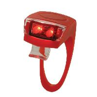 Eclairage Pour Cycle TORCH Eclairage arriere Tail Bright Flex 2 - Rouge
