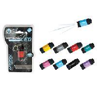 Eclairage et Baladeuses 1 Lampe torche porte-cles 1 LED