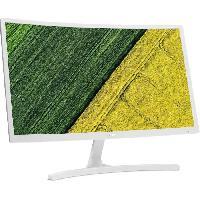 "Ecran - Enceinte ACER ED242QR - Ecran Incurvé 23.6"" - FHD - Dalle VA - 4ms - 75 Hz - HDMI / VGA - AMD FreeSync"