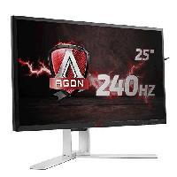 """Ecran - Enceinte AOC AG251FZ - Ecran 24.5"""" Full HD - Dalle TN - 1 ms - DisplayPort / HDMI / DVI / VGA / USB 3.0 - Adaptive Sync"""