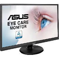 """Ecran - Enceinte ASUS VA249HE - Ecran 23.8"""" FHD - Dalle VA - 5ms - HDMI / D-Sub"""